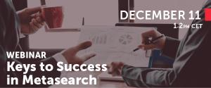 Mirai Webinar - Keys to success in Metasearch