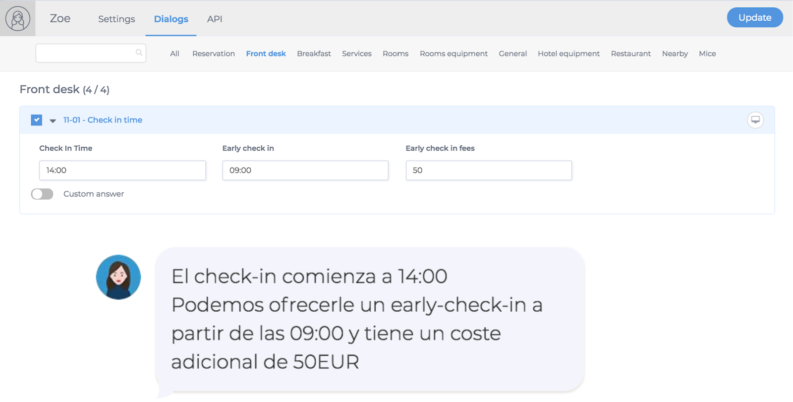 iNTEGRACIÓN qUICKTEXT